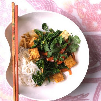 Stir-Fried Tofu, Thai-Style