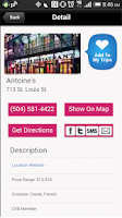 Screenshot of GO NOLA: Guide to New Orleans