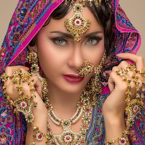 India Beauty by Steven Chu - People Portraits of Women ( potrait, fashion, steven chu photoworks, india, beauty )