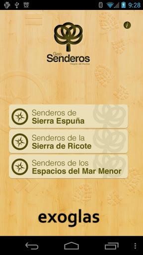 GeoSenderos R. de Murcia LITE