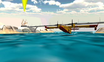 Screenshot of Airplane Firefighter 3D