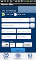 Screenshot of Rideshare4Less