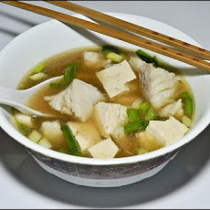 Spicy Cod Fish and Tofu Soup/Sauce by Sy