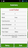 Screenshot of Soccer quiz