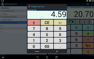 Screenshot of Office Calculator Pro