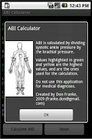 Screenshot of ABI Calculator