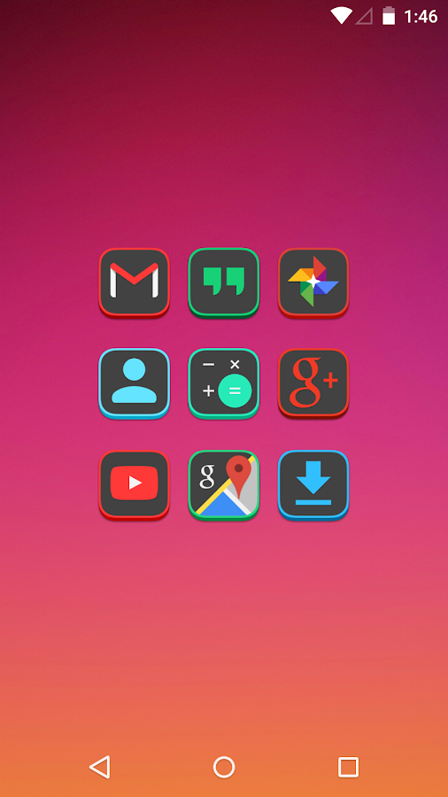 Dekk - Icon Pack Screenshot 0