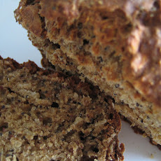 Whole Wheat Oat Banana Bread