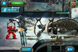 Screenshot of Soldier vs Aliens