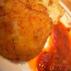 Awesome arancini (Risotto balls)