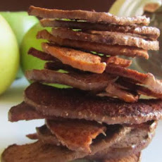 Spiced Apple Slices / Apple Chips