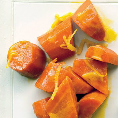 Glazed Carrots with Orange and Ginger
