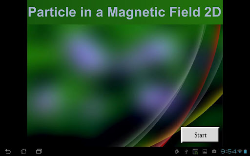 Particle in Magnetic Field