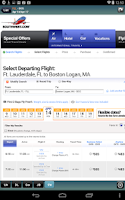 Screenshot of Miami Airport + Flight Tracker
