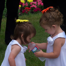 cousin flower girls by Tammy Cassford - Wedding Other