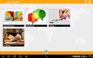 Screenshot of Learn Spanish by WAGmob