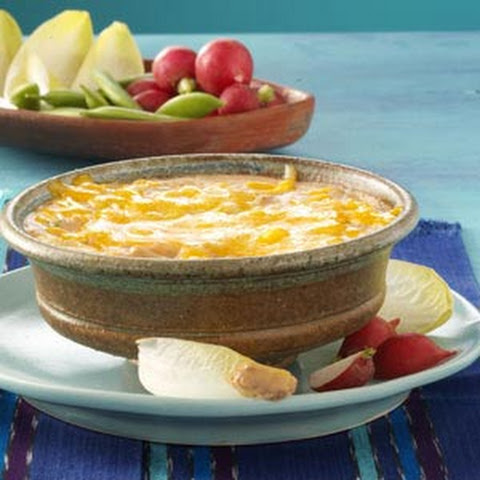 Three-Pepper Bean Dip