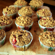 Strawberry Granola Muffins