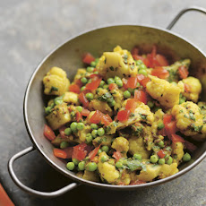 Pea And Cauliflower Curry