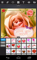 Screenshot of KoolrPix - I Love You Mom