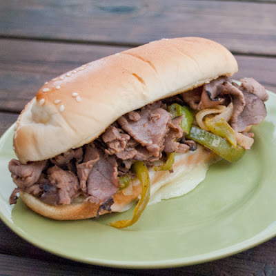 Quick and Easy Cheesesteak Subs