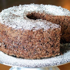 Classic Chocolate Malt Angel Food Cake