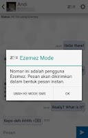 Screenshot of Ezemez: Free SMS Indonesia