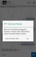 Screenshot of Ezemez: Free SMS Indonesia
