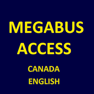 MegaBus CANADA English Access - screenshot