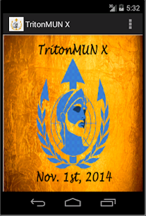 TritonMUN X - screenshot