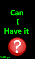 Screenshot of Can I Have It ? Healthy Eating