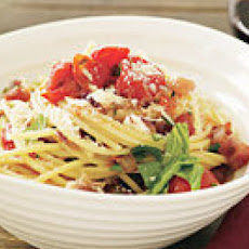 Cherry Tomato Spaghetti all'Amatriciana