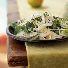 Escarole and Fennel Salad with Pears and Gruyère
