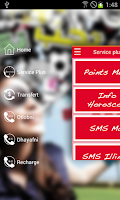 Screenshot of Ooredoo Services
