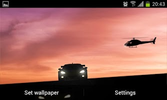 Screenshot of Racing Car LIVE Wallpaper