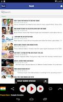 Screenshot of RadioKhushi Hindi Telugu Radio