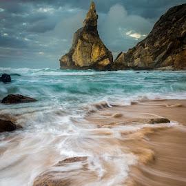 Ursa by Francisco Machado - Landscapes Beaches ( fotonature, sintra, workshop fotografia de natureza, praia da ursa )
