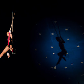 Circus Artists by Giorgio Ramella - News & Events Entertainment ( flying, 2014, stars, shadow, artistic, italy, shadows, circus )