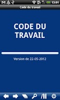 Screenshot of French Labour Code