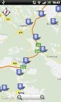 Screenshot of Vlaki - SLO železnice