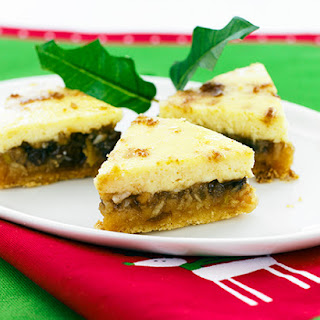 Festive Fruit Mince Slice