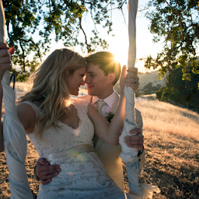 by Michael Keel - Wedding Bride & Groom