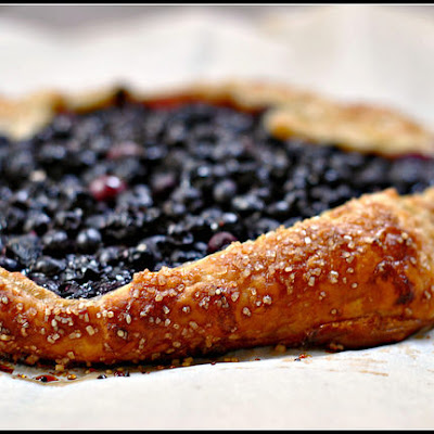 Easy Blueberry Crostata