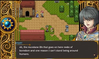 Screenshot of RPG Unlucky Hero for English