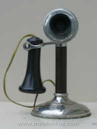Candlestick Phones - Kellogg 1901 Candlestick Telephone 1