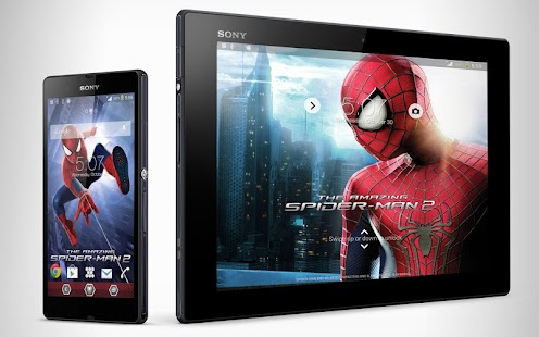 Xperia™The Amazing Spiderman2® Screenshot
