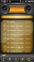 Screenshot of Boom Player Metallic Gold Skin