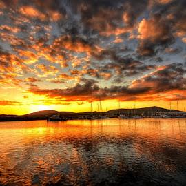 Dingle Sunset by Joe Ormonde - Landscapes Sunsets & Sunrises