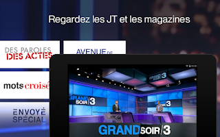 Screenshot of francetv info