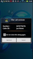 Screenshot of Never Miss A Call